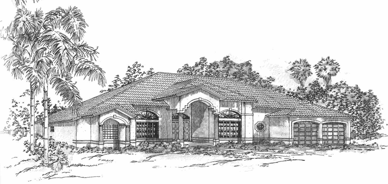 amethyst-custom-home-sketch