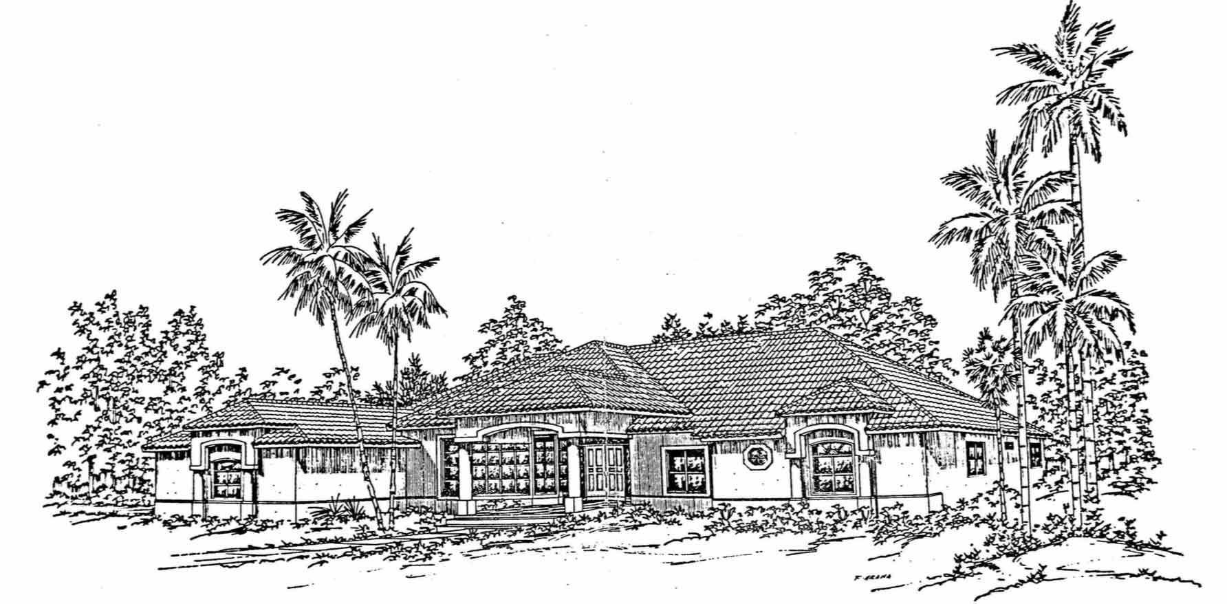 diamond-custom-home-sketch